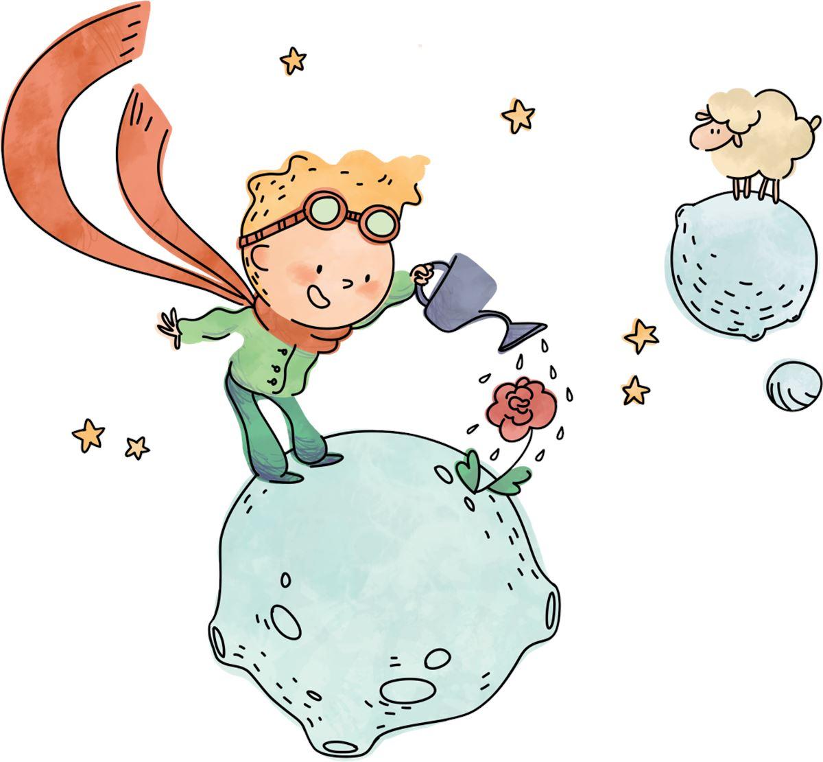 Favorito Adesivi Murali: Il piccolo principe contadino | LeoStickers DG19